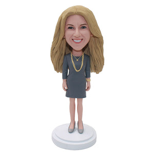 Custom Bobbleheads That Look Like You Gift For Girlfriend - Abobblehead.com