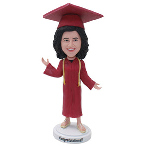 Custom Bobbleheads As College Graduation Gifts For Phd Graduation, Masters Degree, Bachelors - Abobblehead.com