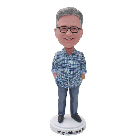 Best Father's Day Ideas to Custom Bobbleheads From Your Fahter Photos - Abobblehead.com