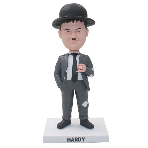 Personalized Gentleman Bobblehead, Custom Comedy Costume Bobblehead - Abobblehead.com