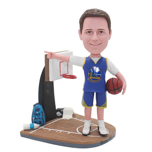 Personalized Basketball Bobbleheads, Custom College Basketball Bobbleheads Cool Gifts For Basketball Players - Abobblehead.com
