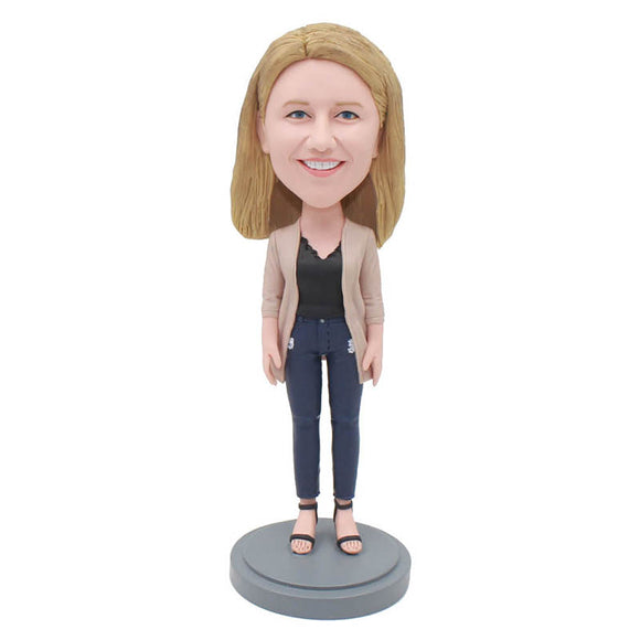 Create Your Own Doll That Looks Like You, Custom Women Figure Sculptures - Abobblehead.com