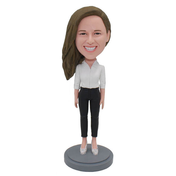 Create Your Own Bobblehead That Look Like You, Funny Gifts To Give Your Girlfriend - Abobblehead.com