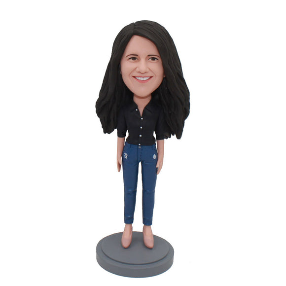 Custom Bobbleheads From Your Photos Funny Gifts To Get Your Girlfriend - Abobblehead.com