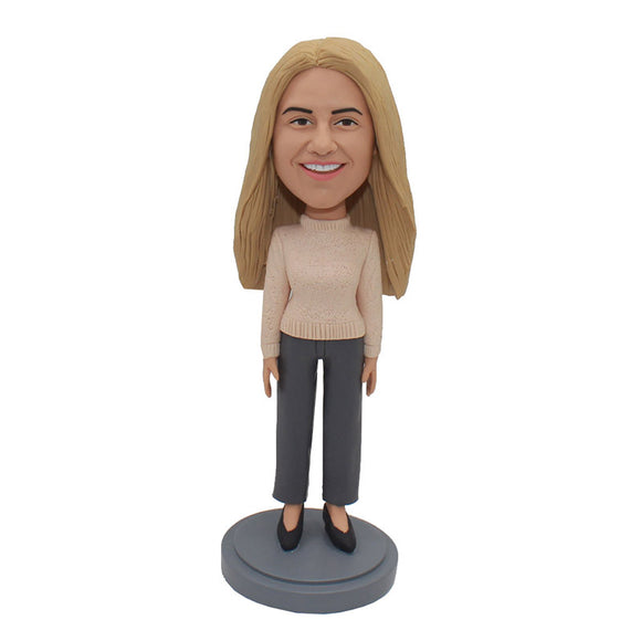Custom Bobbleheads From Your Photos Unique Girlfriend Gifts - Abobblehead.com