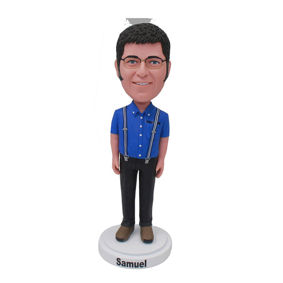 Make Your Own Bobblehead From Your Photos, Custom Bobbleheads For Boyfriend - Abobblehead.com