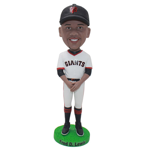 Custom Giants Baseball Bobbleheads Unique Gift For Young Baseball Player - Abobblehead.com