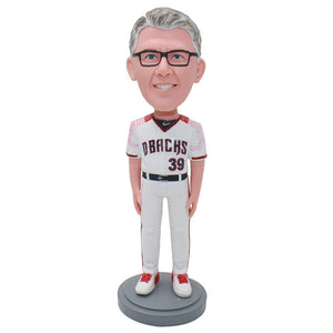Custom Volleyball Coach Man Bbobblehead, Custom Soccer Coach Bobblehead - Abobblehead.com
