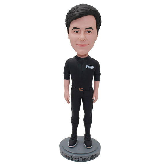 Custom Casual Wear Bobbleheads Doll From Photos, Turn Anyone Into A Bobblehead - Abobblehead.com