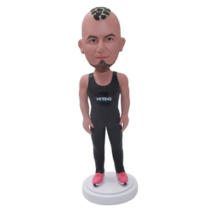 Custom Muscle Man Bobbleheads From Photos, Unique Men's Gifts Ideas - Abobblehead.com