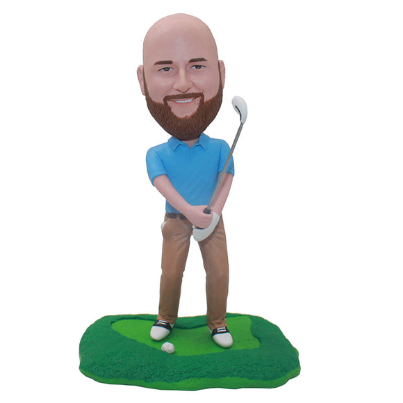 Custom Bobblehead Golf Gifts For Men, Best Golf Gifts For Men - Abobblehead.com