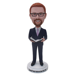 Custom Graduation Bobbleheads Best Teachers Gifts For Teachers' Day - Abobblehead.com