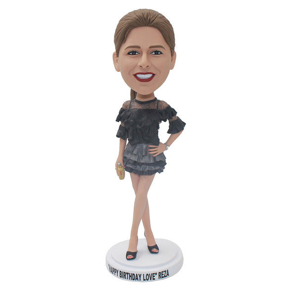 Custom Sex Bobbleheads Girl Pose That Looks Like You - Abobblehead.com