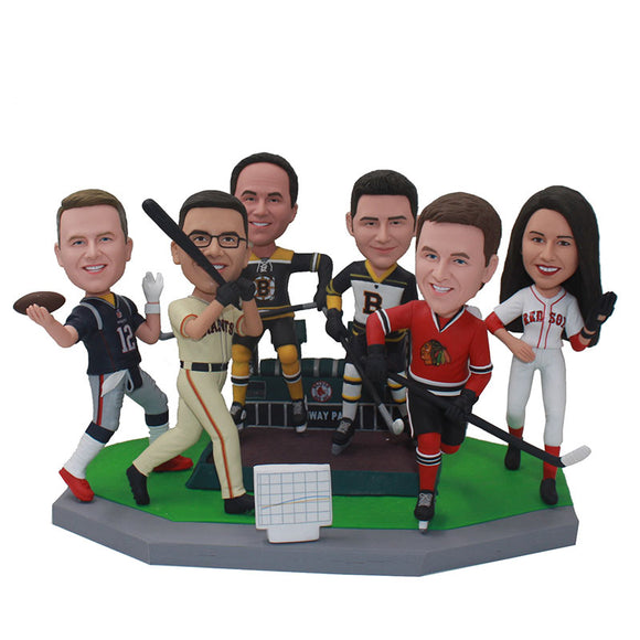 Bulk Custom Bobbleheads Groupon 6+ All Of Them Are The Different Free Shipping - Abobblehead.com