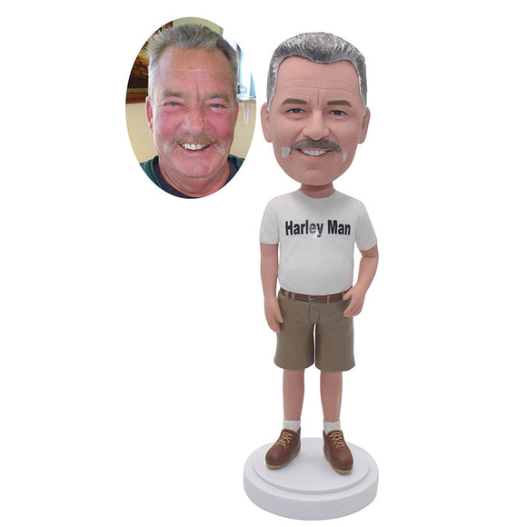 Custom Bobbleheads Gifts For Dad For Father's Day, Personalized Fathers Day Gifts For Him - Abobblehead.com