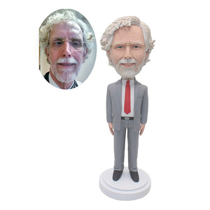 Custom Bobblehead Best Gift You Can Buy For Your Manager In Office - Abobblehead.com