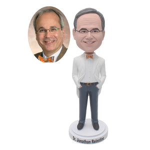 Custom Groomsmen Bobbleheads Wedding Favors, Custom Commander Bobbleheads, Custom Singer Bobbleheads - Abobblehead.com