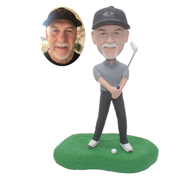 Custom Boss Bobbleheads Gifts For Golfers Who Have Everything - Abobblehead.com