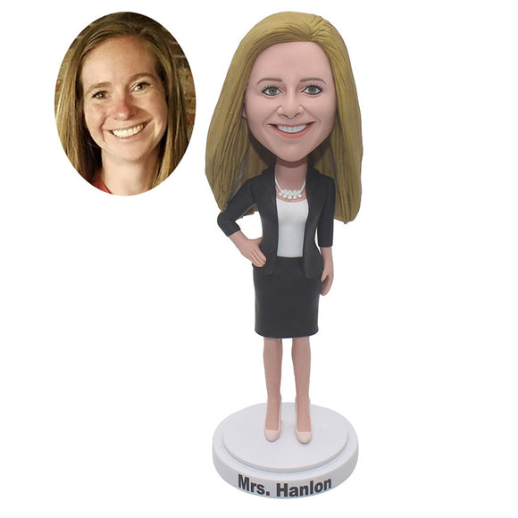 Custom Bobblehead For Business, Best Gift You Can Buy For Your Manager In Office - Abobblehead.com