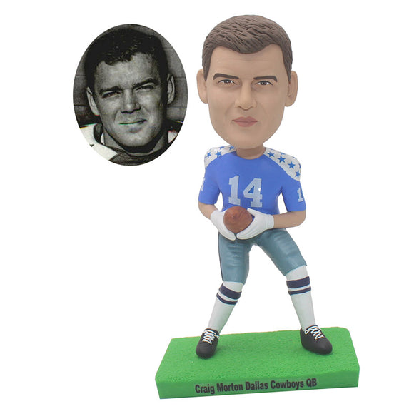 Custom Soccer Player Bobblehead, Soccer Personalized Bubble Head, Custom Soccer Figures - Abobblehead.com