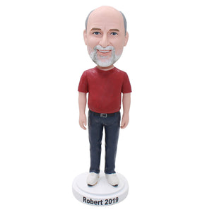 Custom Bobbleheads From Photos, Personalized Fathers Day Gifts For Christmas - Abobblehead.com