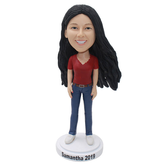 Custom Bobbleheads That Look Like You, Make Your Own Bobblehead - Abobblehead.com