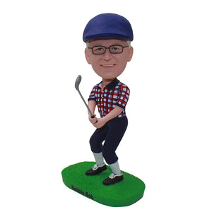 Custom Golf Bobblehead Fathers Day Gifts For Golfers - Abobblehead.com