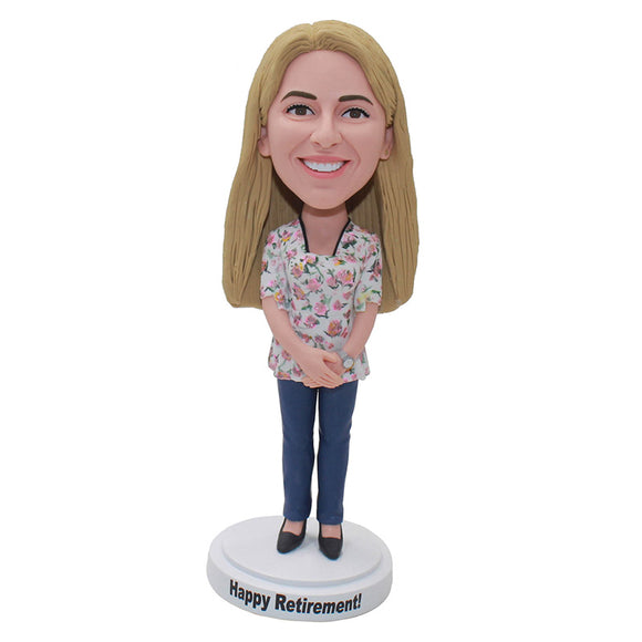 Custom Bobblehead Of Girlfriend From Photos Look Like Her - Abobblehead.com