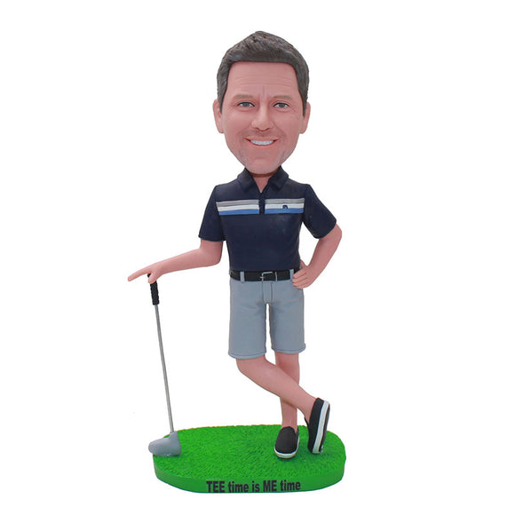 Custom Bobblehead Golf Gifts For Men, Make A Bobblehead From Photo - Abobblehead.com