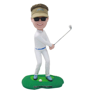 Custom Bobblehead Best Golf Gifts For Men, Make A Bobblehead From Photo - Abobblehead.com