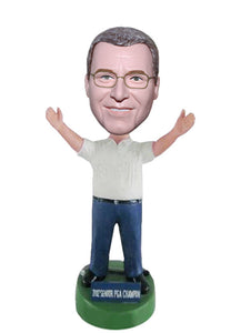 Make Your Own Personalized Bobblehead, Make a Doll of a Person From a Picture - Abobblehead.com