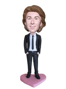 Custom Salesman Bobblehead, Personalized Bobblehead Gifts for Managers - Abobblehead.com
