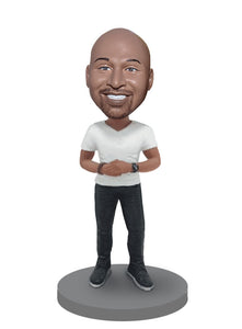 Custom Male Ceo Bobbleheads, Custom Figurine Unique Gift For Boss Ceo - Abobblehead.com