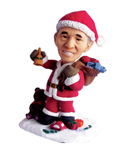 Custom Santa Claus Bobbleheads By Christmas Gifts - Abobblehead.com