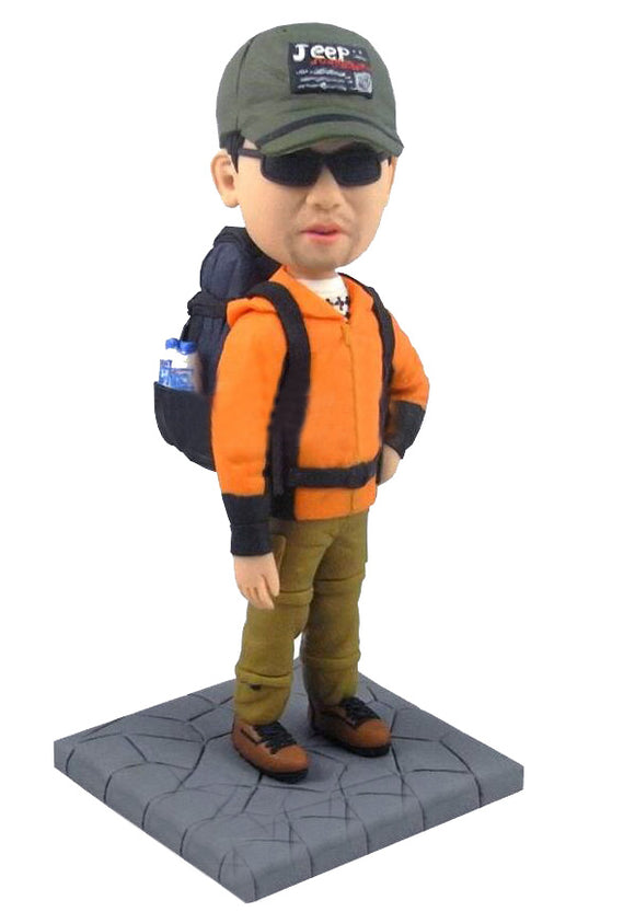 Custom Bobblehead Outdoor Sports Dolls, Create Tour Own Bobble head - Abobblehead.com