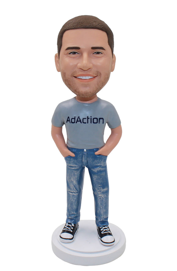 Custom Bobbleheads Corporate Gift, Custom Bobbleheads Pose - Abobblehead.com