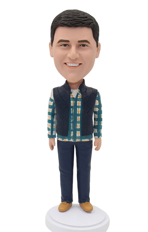Custom Bobbleheads That Look Like You, Make Someone Into A Bobblehead - Abobblehead.com