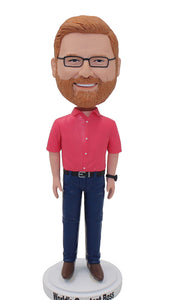 Best Bobblehead Gifts For Successful Businessman, Custom Made Celebrity Bobbleheads - Abobblehead.com