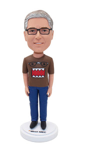 Custom Real Life Bobbleheads, Personalized Lifelike Bobbleheads Doll - Abobblehead.com