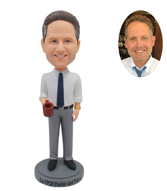 Custom Bobblehead From The Office, Custom Boss Bobbleheads From Photo - Abobblehead.com