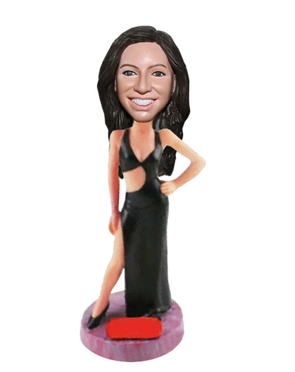 Custom Dance Bobblehead Dance Clothing Doll, Bobbleheads That Look Like You Female Dancer - Abobblehead.com