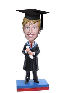 Custom Graduation Bobblehead Deals For Achelor, Undergraduate, Master, Postgraduate - Abobblehead.com