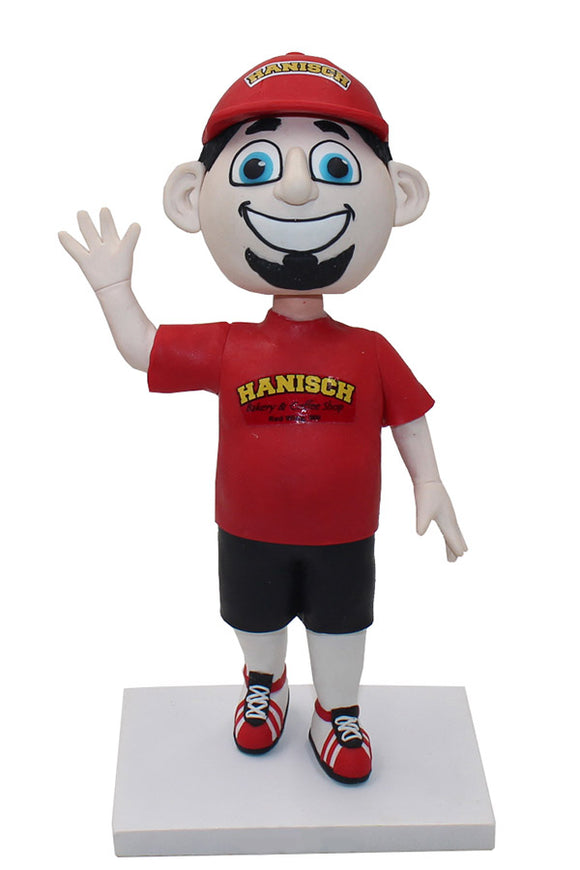 Creat Your Own Logo Bobble Head Doll, Personalized Bobbleheads From Your Upload Picture - Abobblehead.com
