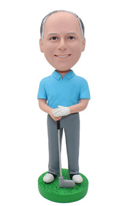 Custom Golf Bobblehead, Personalized Golf Bobbleheads Made In Usa Delivered In 5 days - Abobblehead.com
