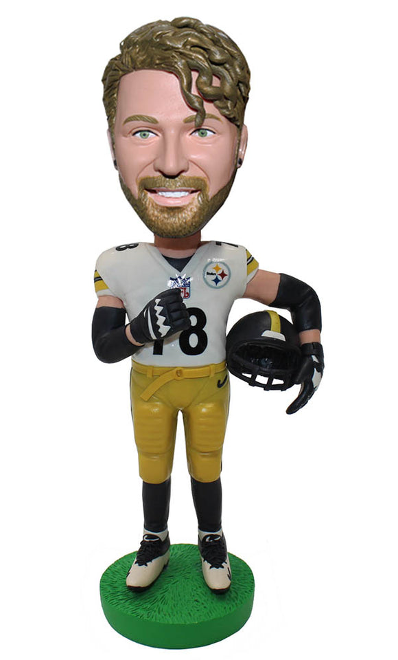 Custom Made NFL Bobbleheads That Look Like You, Custom Baseball Bobbleheads - Abobblehead.com