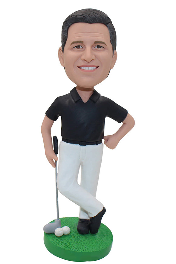 Custom Bobblehead Golf, Make A Bobblehead From Photo - Abobblehead.com