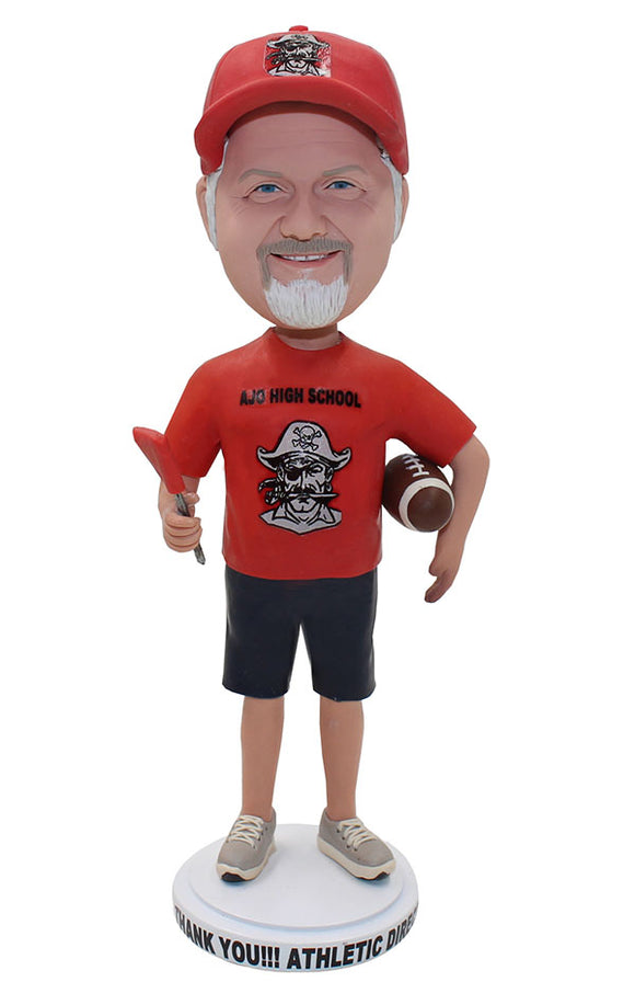 Custom Bobblehead With Rugby, Custom Gifts For Rugby Lovers - Abobblehead.com
