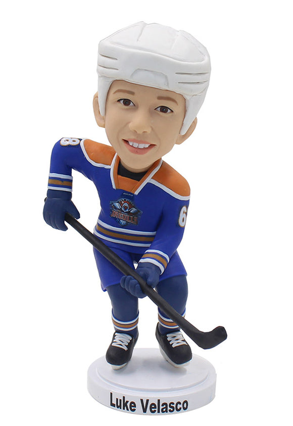 Custom Kids Hockey Bobblehead, Best Gifts For Young Hockey Player - Abobblehead.com