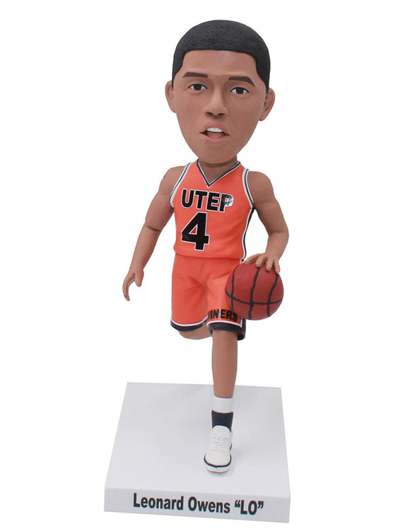 Custom Basketball Bobbleheads, Custom Bobblehead Basketball Player - Abobblehead.com
