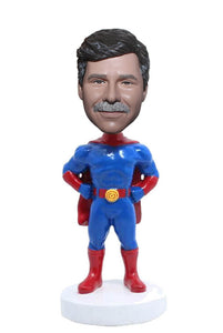 Custom Bobblehead Superhero Gifts for Men, Personalized Superhero Bobbleheads - Abobblehead.com